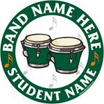 Drums decals stickers clings & magnets