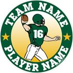 football stickers decals & magnets