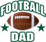football stickers decals clings & magnets
