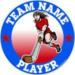 Field Hockey car decal sticker magnets wall decals