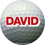 golf stickers decals clings & magnets