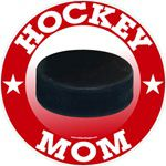 Hockey Mom stickers decals clings & magnets
