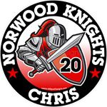 Knight car window sticker decals and magnets