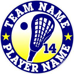 #LAX100 Lacrosse Personalized- Car Window Decals, Stickers, Clings, Magnets, Wall Decals or TShirts. Choose below.