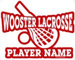 lacrosse window sticker decal & magnet