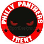 Panther Wildcat stickers decals clings & magnets