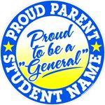 Proud Parent car window sticker decals & magnets