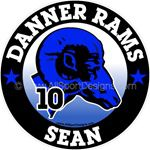 Ram car stickers clings decals magnets wall decals