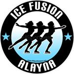 ice skating window sticker decal