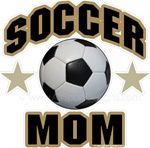 soccer mom window sticker decal clings & magnets