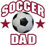 soccer dad window sticker decal clings & magnets