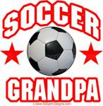 soccer Grandpa sticker decal clings magnets