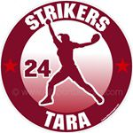 softball stickers clings decals & magnets