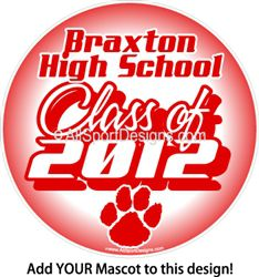 School Year Spirit Car Window Decals Stickers Magnets or Wall Decals