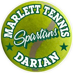 tennis window sticker decal cling magnet wall decal