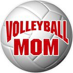 volleyball stickers clings decals magnets