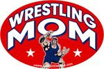 Wrestling MOM car stickers decals clings & magnets