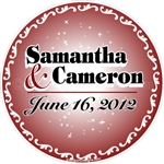 Wedding Date Floor Wall Decals