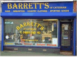 Barretts. Guns and sporting goods
