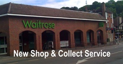 Waitrose Supermarket and Car Park
