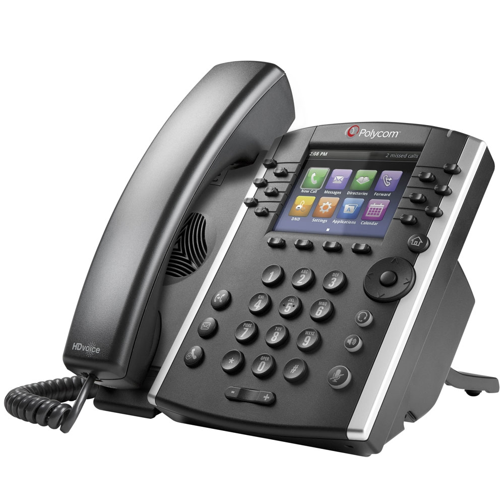 Polycom VVX 400 IP Phone - 2200-46157-025