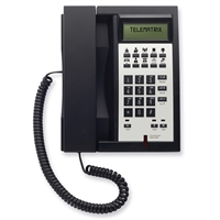 Telematrix 3300IPMWD 1-Line Black Hotel IP Phone