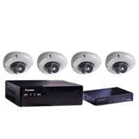 GeoVision 88-SNEFD-000 4 Channel NVR Security Bundle