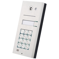 2N Helios IP Vario, 1 Button, Camera, Keypad