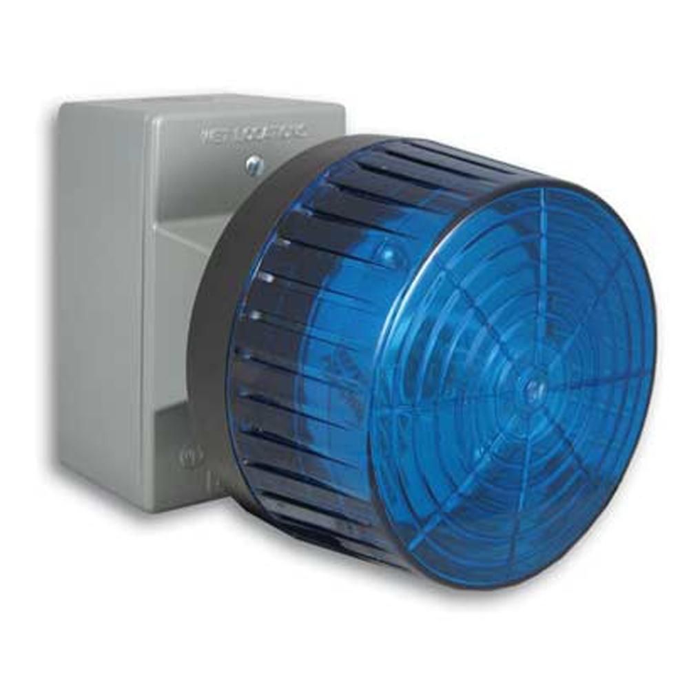 Viking BLK-4-EWP Weatherproof Blue Strobe Light - IP Phone Warehouse