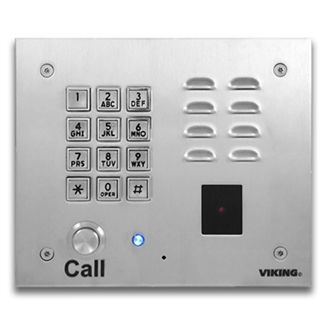 Viking K 1770 3 Entry Phone 12 Button Keypad Amp Proximity
