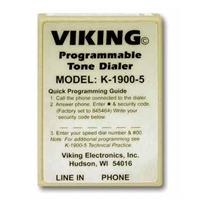 Viking K-1900-5 Hot-Line Touch-Tone Dialer