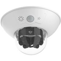 Mobotix D15 DualDome IP Camera with Super Wide 22 mm Lenses