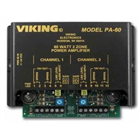 Viking PA-60 Compact 60-Watt Paging Amplifier