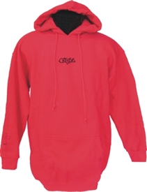 The Cross of Christ Christian Pullover Hoodie Sweatshirt in Red