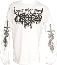 Come What May Long Sleeve T-Shirt in White