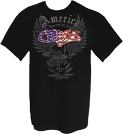 Land of the Free Patriotic Christian T-Shirt