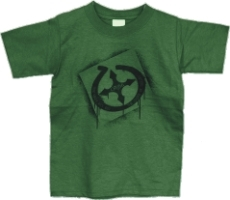 The Only Way Out Youth Christian T-Shirt in Green