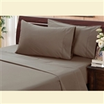 Lifestyles Collection, cotton/polyester, 200 thread count sheet set, Full XL size, Standard Mattress