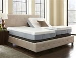 Bamboo Collection,  300 thread count, Cal King Split set, Standard Mattress