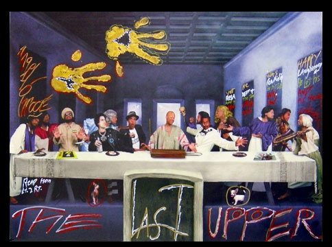 """The Last Supper"" by Angelo Moore"