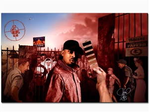 "Chuck D's ""By The Time I Got To Arizona"" Canvas"