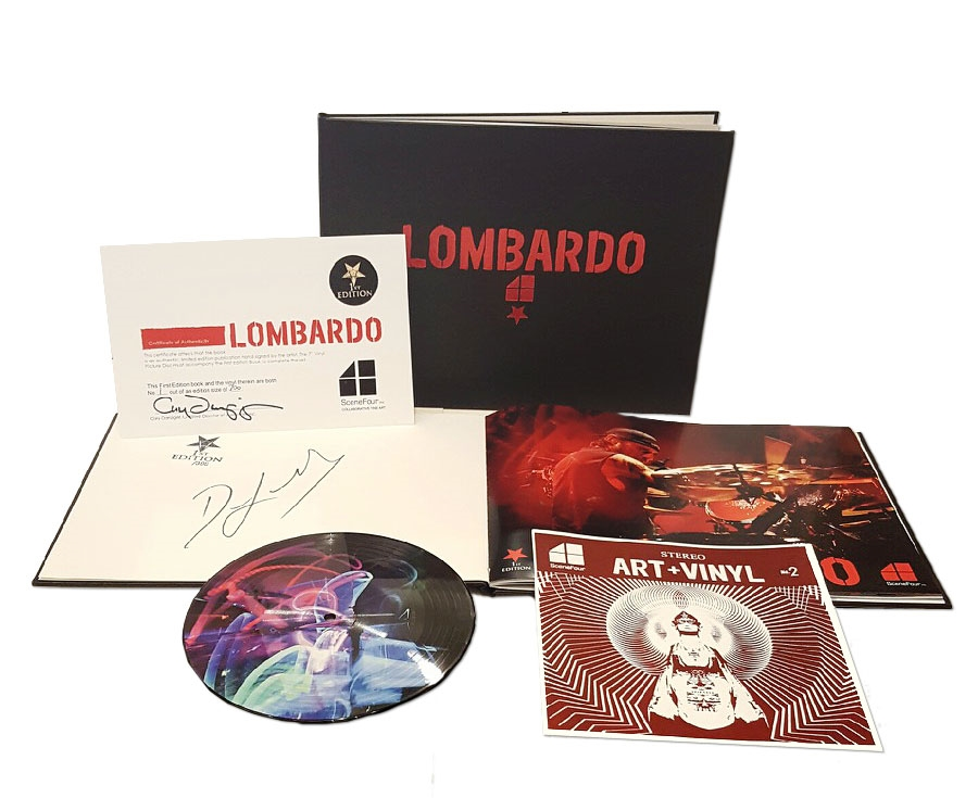 LOMBARDO: First Edition Book and Vinyl Picture Disc