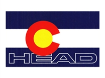 Head Skis With Colorado Logo Sticker