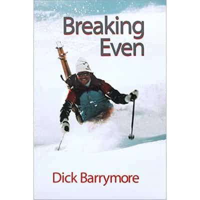 Breaking Even Book Signed by Dick Barrymore