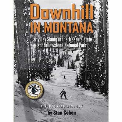 Downhill in Montana Book Signed by Author | Signed Skiing Books