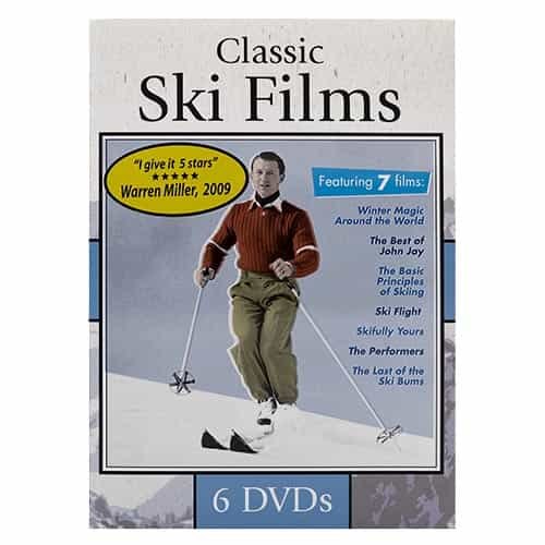Classic Ski Films - Set of 7 Films on 6 DVDs