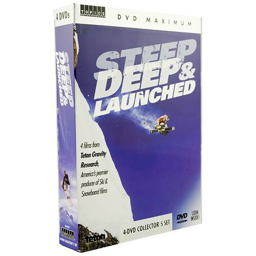 DVD Box Set - Steep, Deep, & Launched