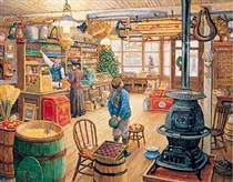1000 Piece Jigsaw Puzzle of a Classic General Store