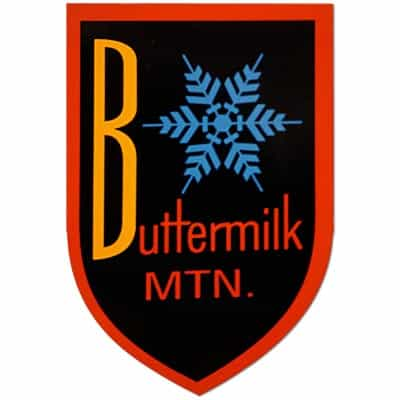Buttermilk Mountain Magnet