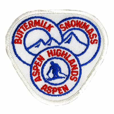 Aspen Four Mountain Vintage Ski Patch